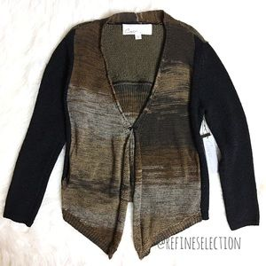 Curio New York Space Dyed Sweater Cardigan